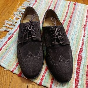 Men's Cole Haan NikeAir Leather Suede Oxford Shoes
